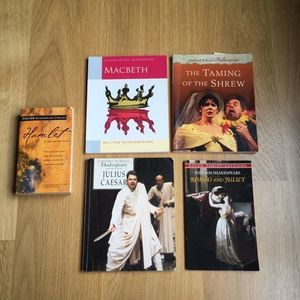 5 Shakespeare Play Set Folger & Oxford